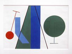 Sophie Taeuber Arp, Bandes Cercles et Lignes, 1932