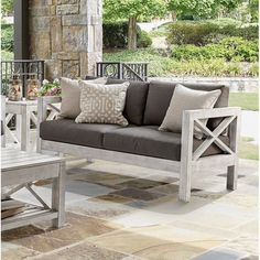 You'll love the Barden Patio Loveseat with Sunbrella Cushions at Wayfair - Great Deals on all Outdoor products with Free Shipping on most stuff, even the big stuff.