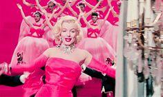 Marilyn Monroe~Gentlemen Prefer Blondes.
