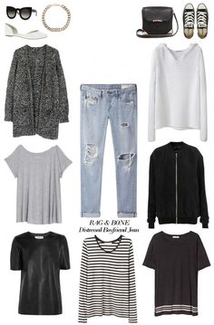 Which boyfriend jeans for your bodyshape and height? How to style? – Petite? Plus size? Curvy? Skinny?   FASHION TIPS