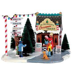 Lemax Village Collection Christmas Village Accessory, St. Nicholas's Tree Lot