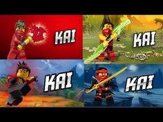 LEGO® Ninjago Kai in all seasons 3 4 5 6 (Fan-Made) HD - YouTube