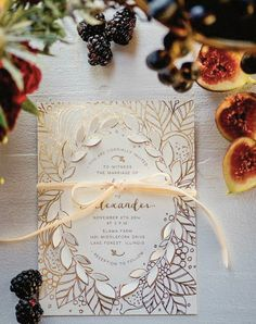 10 Wedding Invitation Trends That Prove Snail Mail Is Still the Best via @PureWow
