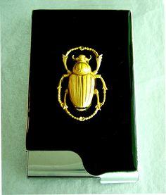 Scarab Cigarette case