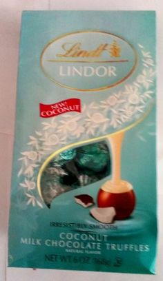 Lindt Lindor Irresistibly Smooth Coconut Milk Chocolate Truffles 6oz Lindt http://www.amazon.com/dp/B00IGCXXJY/ref=cm_sw_r_pi_dp_4e47tb07KZZ1Q