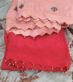 Salwar Suit Neck Designs, Neck Designs For Suits, Kurta Neck Design, Sleeves Designs For Dresses, Fancy Blouse Designs, Stylish Dress Designs, Kurta Designs Women, Sleeve Designs, Salwar Designs