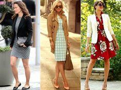Cantinho das Ideias: Escolhendo modelitos de Vestidos para o trabalho
