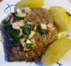Cozinha com a Anna: Bifes de Atum Grelhados
