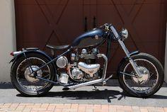 1966 Matchless MONARCH 650 CLASSIC BRITISH BOBBER BIKE | Florida | Burgundee Bikes | FOR SALE