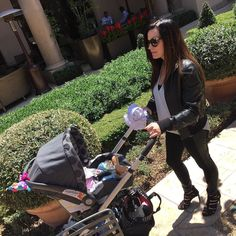 Rolling in stilettos with a baby in Beverly Hills... Lol ohhhh man.... by diapersandlipgloss