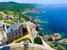 Fort la latte – zamek Templariuszy w Bretanii Oceans, World, Beach, Water, Places, Youtube, Outdoor, The World, Aqua