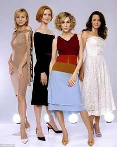 Famous for: The Sex And The City girls (from left, actresses Kim Cattrall, Cynthia Nixon, Sarah Jessica Parker and Kristin Davis) were famous for navigating their sexual exploits around New York