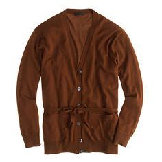 J.Crew - Merino wool belted cardigan sweater