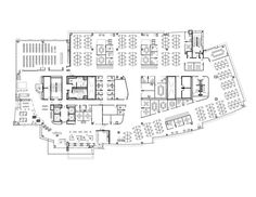 GoDaddy Silicon Valley Office,Floor Plan