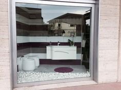 Amazing #showroom for one of our italian customers with the 7031 series.#ceramics #tiles #interiordesign