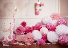 P is for pink, party and pinata! | Papermash