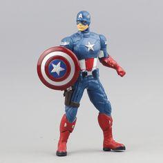 $12.30 (Buy here: https://alitems.com/g/1e8d114494ebda23ff8b16525dc3e8/?i=5&ulp=https%3A%2F%2Fwww.aliexpress.com%2Fitem%2FNO-box-Amazing-captain-America-16-CM-Ultra-Action-Figure-Toys%2F32665090428.html ) ( NO box )  Amazing Captain America: Civil War 16 CM Ultra Action Figure Toys Iron man spider-man Action figure statue for just $12.30