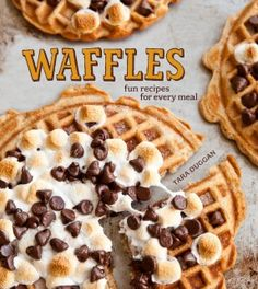 ... recipe for Cornmeal-Bacon Waffles with Thyme-Infused syrup Yum! More