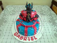Bolo Decorado Transformers/Transformers Cake