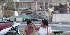 Filipinetako tifoiak utzi dizkigun irudietako bat.