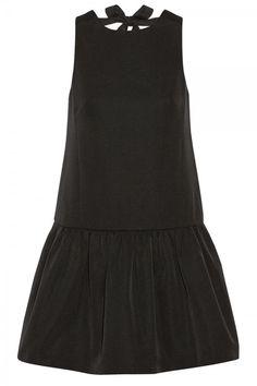 Tibi Katia Cotton And Silk Blend Faille Mini Dress, £405