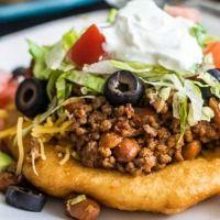 Easy Navajo Tacos | The Recipe Critic (made the easy way) I prefer to use fry bread recipe ;)