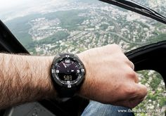 Tissot T-Touch Expert Solar - altimètre (583 mètres d'altitude)