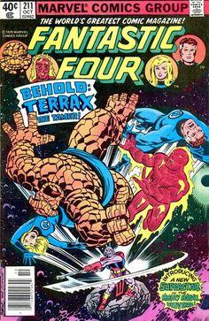 Fantastic Four # 211 by John Byrne & Joe Sinnott