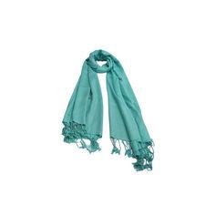 Pashmina Verde Água de Viscose #pashmina #pashimina #modafeminina #fashion #scarf #scarfs