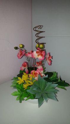 (FEITO POR MIM) Orquídea charmosa