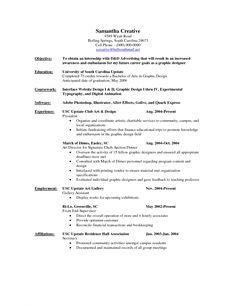 designer resume sample