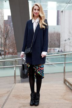 our favorite street style from nyfw, day three : whitney port