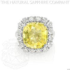 Yellow Sapphire Ring (J4750)
