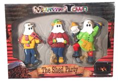 """Mummer Town """"The Shed Party"""" Mummers Newfoundland Kayak Paddle, Kayaking Gear, Newfoundland And Labrador, Fishing Rod, Xmas, Christmas, Quilt Making, Craft Gifts, Leather Craft"""