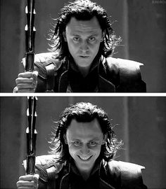 for me this part in the movie showed me that Loki was willing to do anything to be a king even if it included using all of his strength to get to the throne