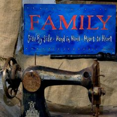 """Items similar to Hand painted - Wood Sign - Quote for Family – Wall Art """"Family Hand in hand, Side by side, Heart to heart""""Positive Gift - Positive Decor on Etsy Wood Signs Sayings, Home Quotes And Sayings, Sign Quotes, Family Quotes, Wooden Signs, Family Wall Art, Posca, Word Families, Positivity"""