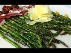 Espárragos a la plancha - YouTube Asparagus, Veggies, Make It Yourself, Youtube, Food, Spanish Kitchen, Planks, Eating Clean, Salads