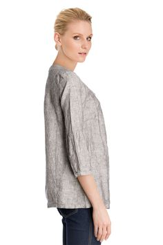 Vente Somewhere / 11982 / Tops / Chemises et Blouses / Blouse en Lin Taupe