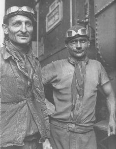 cheminot en 1930