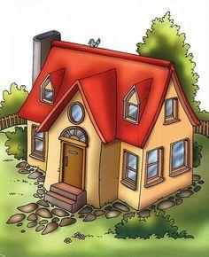 La casa y sus habitaciones, esta Imagenes de habitaciones casa para imprimir te pueden ser útiles para muchas manualidades Imagenes habit...