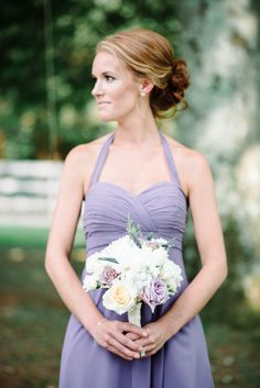Bridesmaids | Lavender | See the full feature: http://www.stylemepretty.com/2013/11/13/nashville-wedding-from-michelle-lange-photography | Photography: Michelle Lange Photography