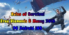 Rules of Survival Hack: Diamonds & Money Cheats 2018 (PC Android iOS)