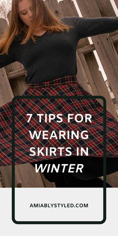 7 Tips for Wearing Skirts in Winter on Amiably Styled. Sustainable, ethical, conscious fashion tips. Cozy Winter Fashion, Women's Summer Fashion, Slow Fashion, Ethical Fashion, Fashion Tips, Eco Friendly Fashion, Winter Stil, Fashion Group, Classy Outfits