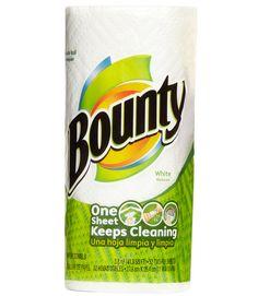 Bounty Paper Towels - GoodHousekeeping.com