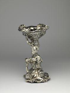 Zoutvat Edelsmid: Adam van Vianen (I) Nederland Utrecht zilver 1622
