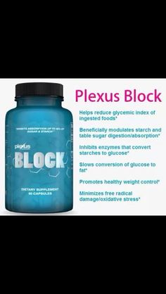 With the holidays around the corner Block your carbs and sugar with the new Plexus BLOCK.