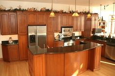 New kitchen cabinets and countertops granite