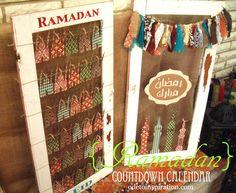 Old Window Ramadan Countdown Calendar