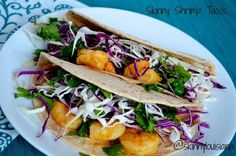 Shrimp Tacos | 27 Things That Real Healthy People Actually Eat For Lunch