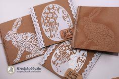 A mai blogbejegyzésben, natúr kraft képeslapokat készítünk el. Imádom az öntapadó papírt, hihetetlen jól lehet vele akár stencilt is készíteni. Tartsatok velem! Scrapbook, Cards, Diy, Bricolage, Diys, Map, Handyman Projects, Do It Yourself, Playing Cards